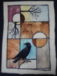 tree crow rectangle